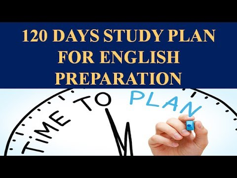 120 Days Study Plan for Bank Exam English Preparation