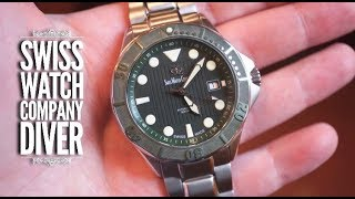 Swiss Watch Company Dive Watch Review - Under $400..