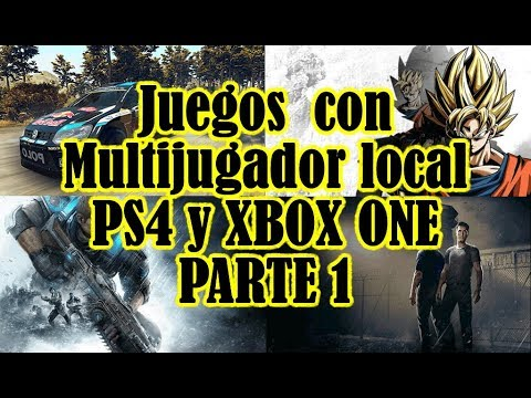 Juegos Con Multijugador Local Ps4 Y Xbox One Youtube