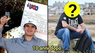 19enne Vince alla Lotterria 11 milioni €! Ecco che Fine ha fatto 10 Anni Dopo...