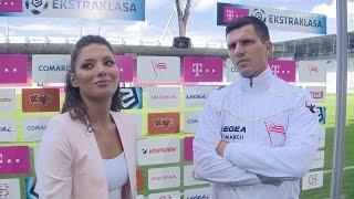 Kulisy meczu Cracovia - Podbeskidzie Bielsko-Biała (23.08.2014)