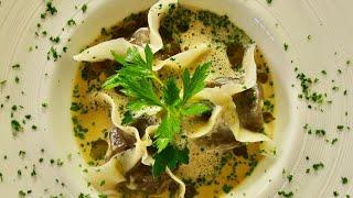 Mushroom Ravioli  Bruno Albouze