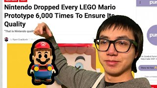 DROPPING LEGO MARIO UNTIL IT BREAKS - LIVE