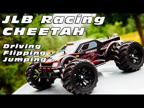 DutchRC - JLB Racing Cheetah - Test Driving, Flipping & Jumping - MUST SEE