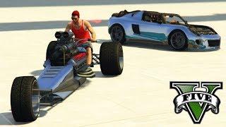GTA V Online: NOVA MOTO 3 RODAS vs CARROS - PRIMEIRA BATALHA!!!