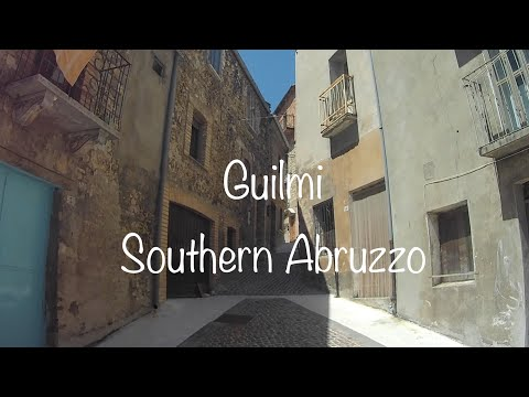 EX PAT LIFE IN ABRUZZO. Guilmi, a beautiful hill top town with stunning views