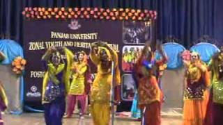 The YOUTH FEST  GIDDHA WINNERS KHASLA COLLEGE 2010