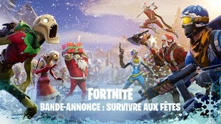 Surviving the holidays and saving the world (Fortnite)