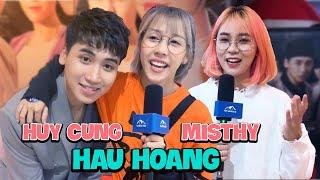 Hậu Hoàng, MisThy QUẬY TƯNG BỪNG ăn mừng Huy Cung ra mắt MV Chuyện Tình Yêu Xa