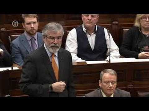 "Gerry Adams ""All parties that want to see a United Ireland must become persuaders for Irish unity"""