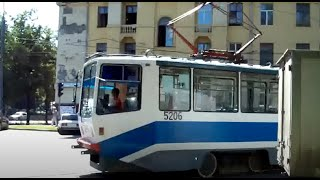 Trams of Moscow in HD 2009 (Московские Трамваи 2009)