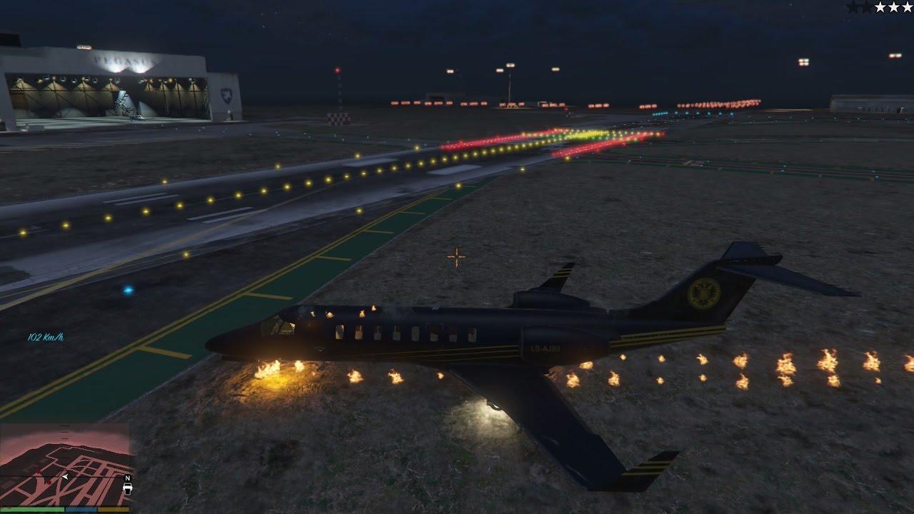 GTA 5 Ghost Rider Mod - Ma Tốc Độ lái máy bay trong GTA 5?