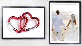 История любви... Оригинальное поздравление на свадьбу.