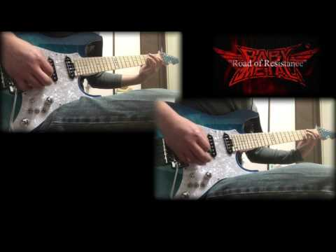 BABYMETAL - Road Of Resistance - Guitar Cover -TAB