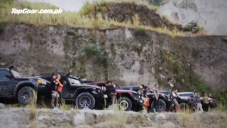 Off-roading in Mt. Pinatubo
