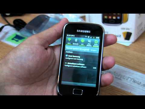 Samsung Galaxy Mini 2 S6500 review HD ( in ROmana ) - www.TelefonulTau.eu -