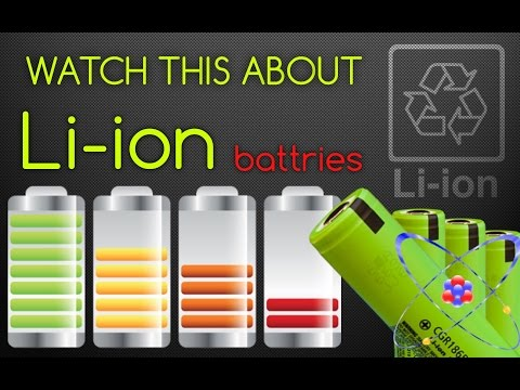 All about Lithium-ion BATTERIES & HOW TO CALIBRATE Li-ion
