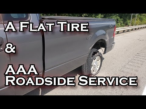 Story Time - A Flat Tire & AAA Road Service