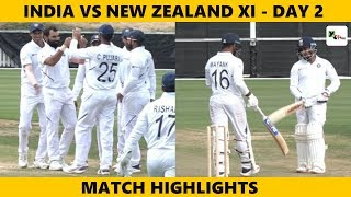 HIGHLIGHTS: Pacers shine on Day 2 of practice match against NZXI