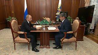 Социально-экономическую ситуацию в Кабардино-Балкарии Владимир Путин обсудил с врио главой региона.