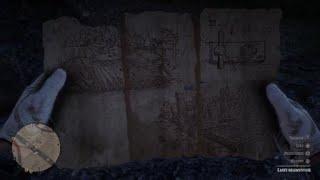 Carte Au Tresor Otis Miller.Carte Reconstituee Red Dead Redemption 2 Images Amateur