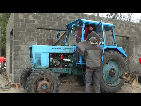 Belarus MTZ-82 restoration project. Part 10 | Front Axle and Custom Seat