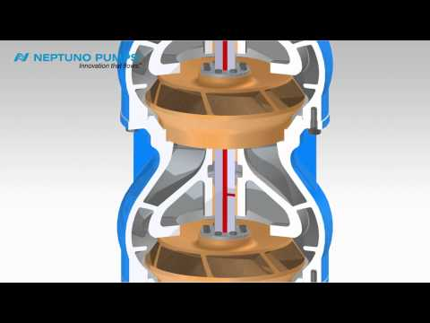 Neptuno Pumps® - Vertical Turbine Pump - Enclosed Shaft Assembly