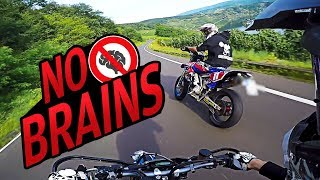 Crazy Downhill Run | Supermoto without brains thumbnail