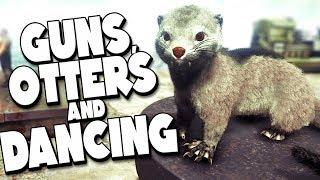 DINOSAURS, GUNS and DANCING! - Ark Jurassic Survival Ep #6