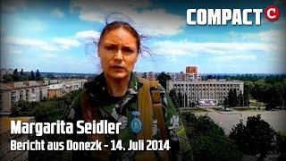 """""""Die Angst ist allgegenwärtig"""" - Margarita Seidler aus Donezk (14. Juli 2014) Thumbnail"""