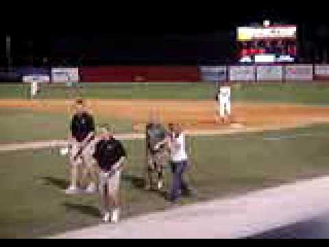 Baseball Bat Spin Race - Sarasota Reds - April 2007