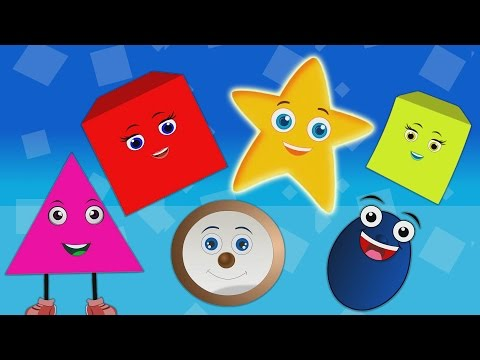 The Shapes Songs for Children  | Shapes Rhymes for Children Medley