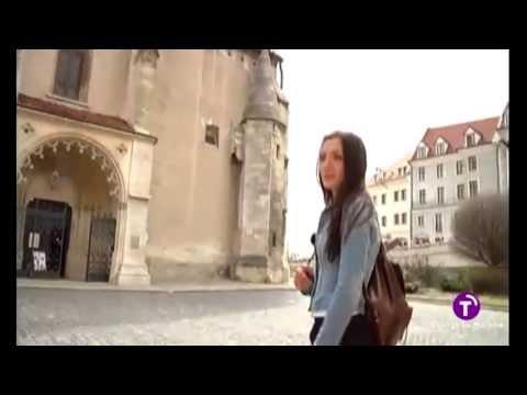 Castellano-manchegos por el mundo.Tour callejero Bratislava