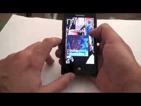 Samsung GT-i8700 Omnia 7- Windows Phone 7