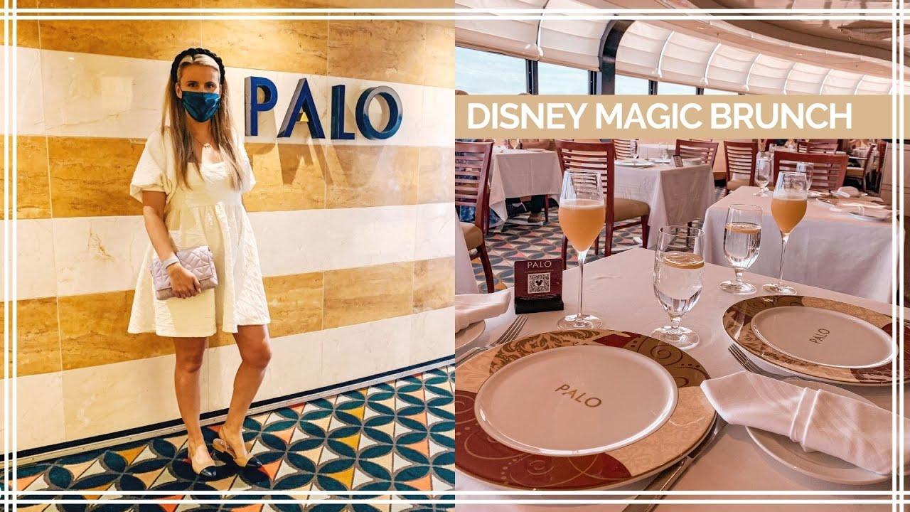 DISNEY MAGIC PALO BRUNCH   Cruise Staycation July 2021