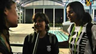Asian Youth Games: India swimmers girls' team