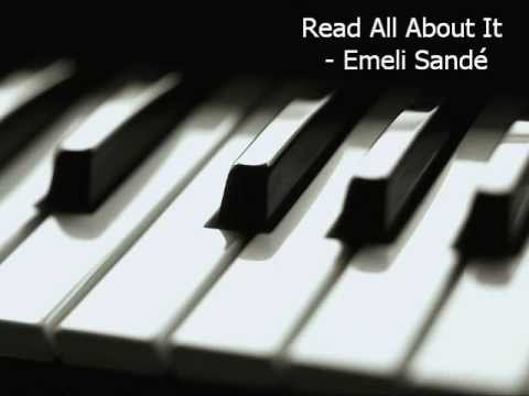 Read All About It Part 3 Emeli Sande Piano Cover Chords In