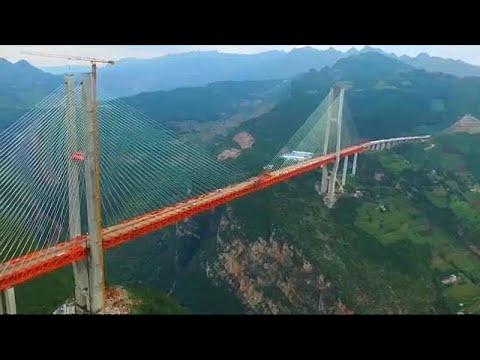 شاهد: جسر بيبانغيانغ الصيني هو الأعلى في العالم  - نشر قبل 4 ساعة