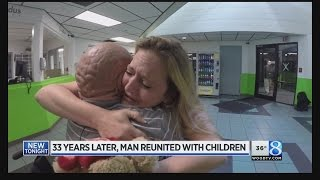 Family separated by 3 decades in prison reunited