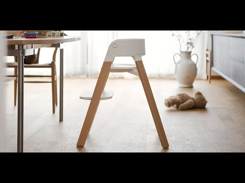 Stokke® Steps™ – The versatile bouncer and highchair combination (OFFICIAL DEMO)