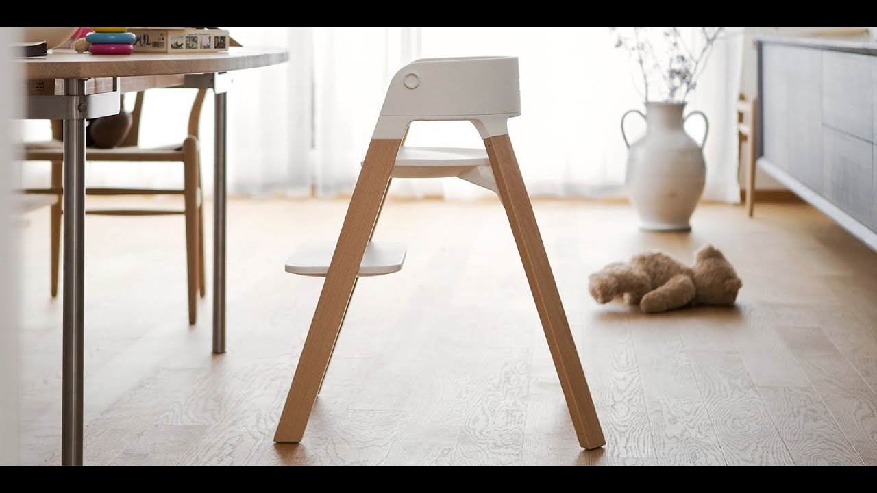 High Chair Wooden Legs Lawn Repair Webbing Stokke Steps The Versatile Bouncer And Highchair