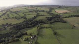 Durham By Drone. Weardale in Evening Light