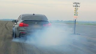 BMW M4 F82 Coupe Akrapovic Exhaust Sound