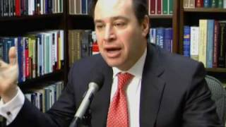 David Frum distinguishes between conservative principles and policies thumbnail