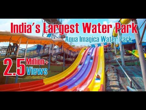 Aqua Imagica Water Park | India's Largest Water Park | Mumbai to Khopoli Ride | 1080p HD