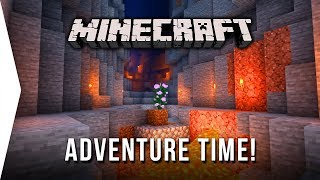 Adventure Time! ► Minecraft #4 Survival Let's Play - Dungeons, Monsters & Surprises!