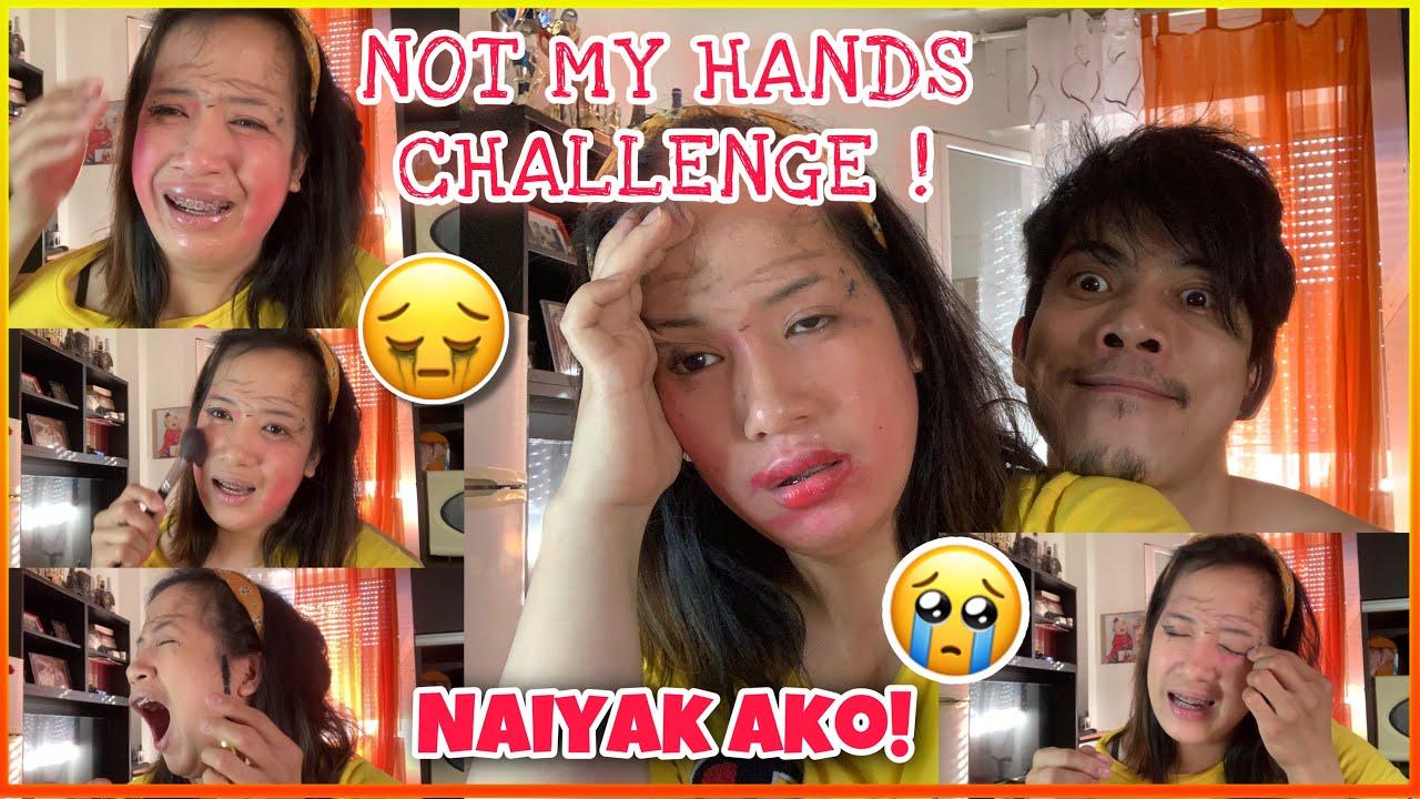 NOT MY HANDS CHALLENGED   KAMAY MO, KAMAY KO vlog#15