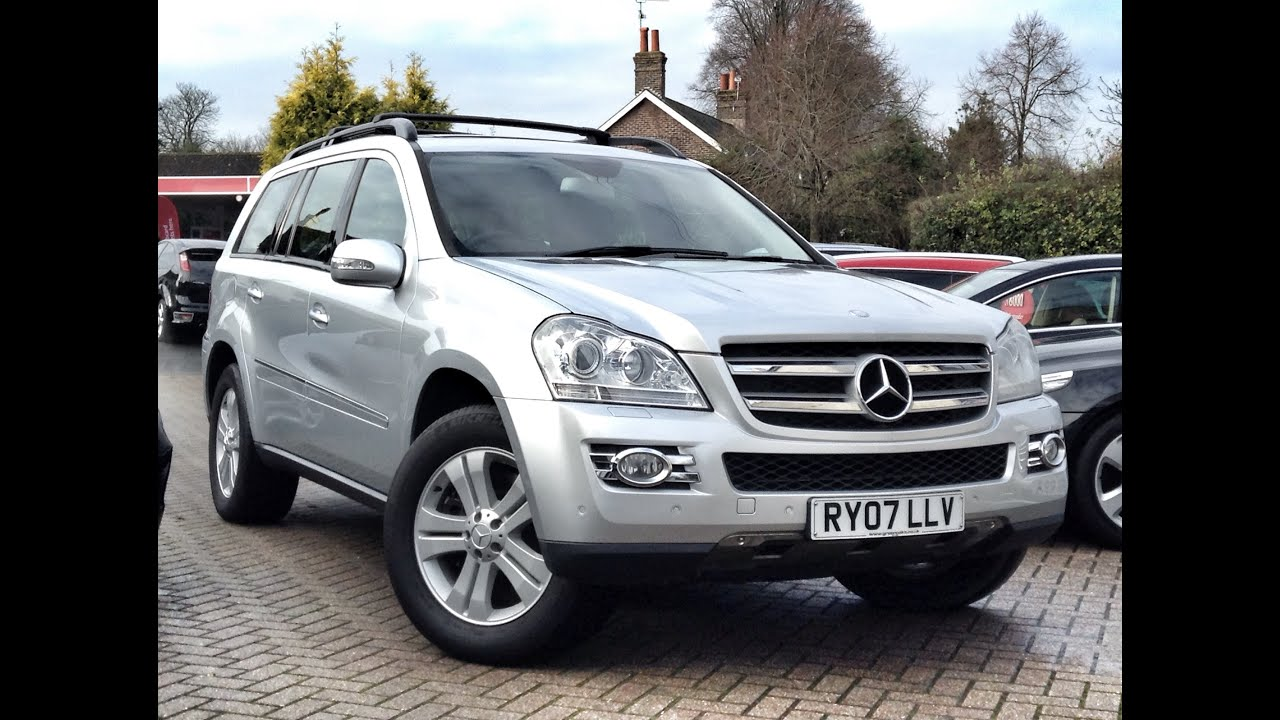 Mercedes benz gl class 3 0cdi gl320 5dr 4wd for sale at cmc cars near brighton sussex youtube