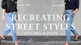 Make Your OLD Clothes Feel NEW Again Using Street Style Fashion | Chic Fall Outfit Inspiration