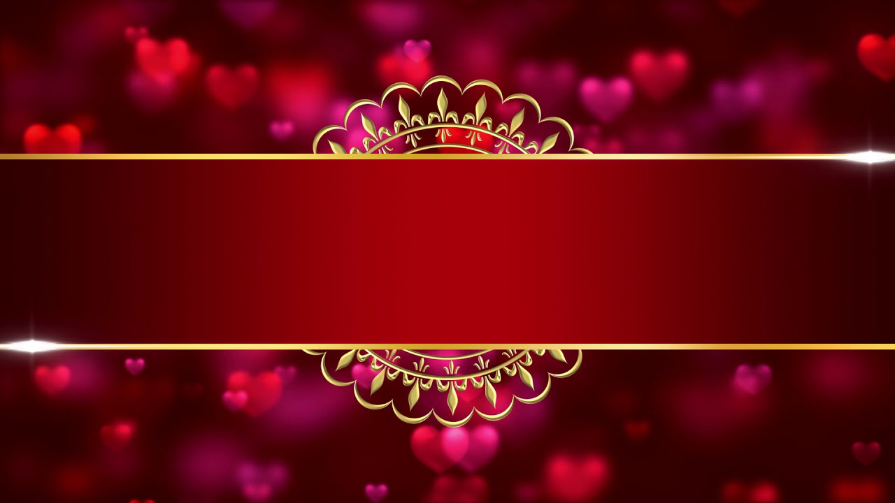 royal indian style wedding card invitation intro title background video effects hd 2019